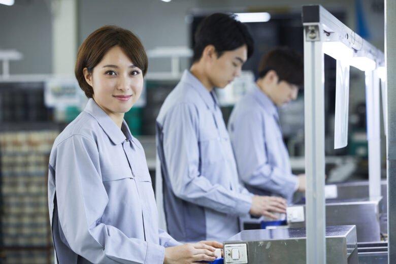 女性-製造業