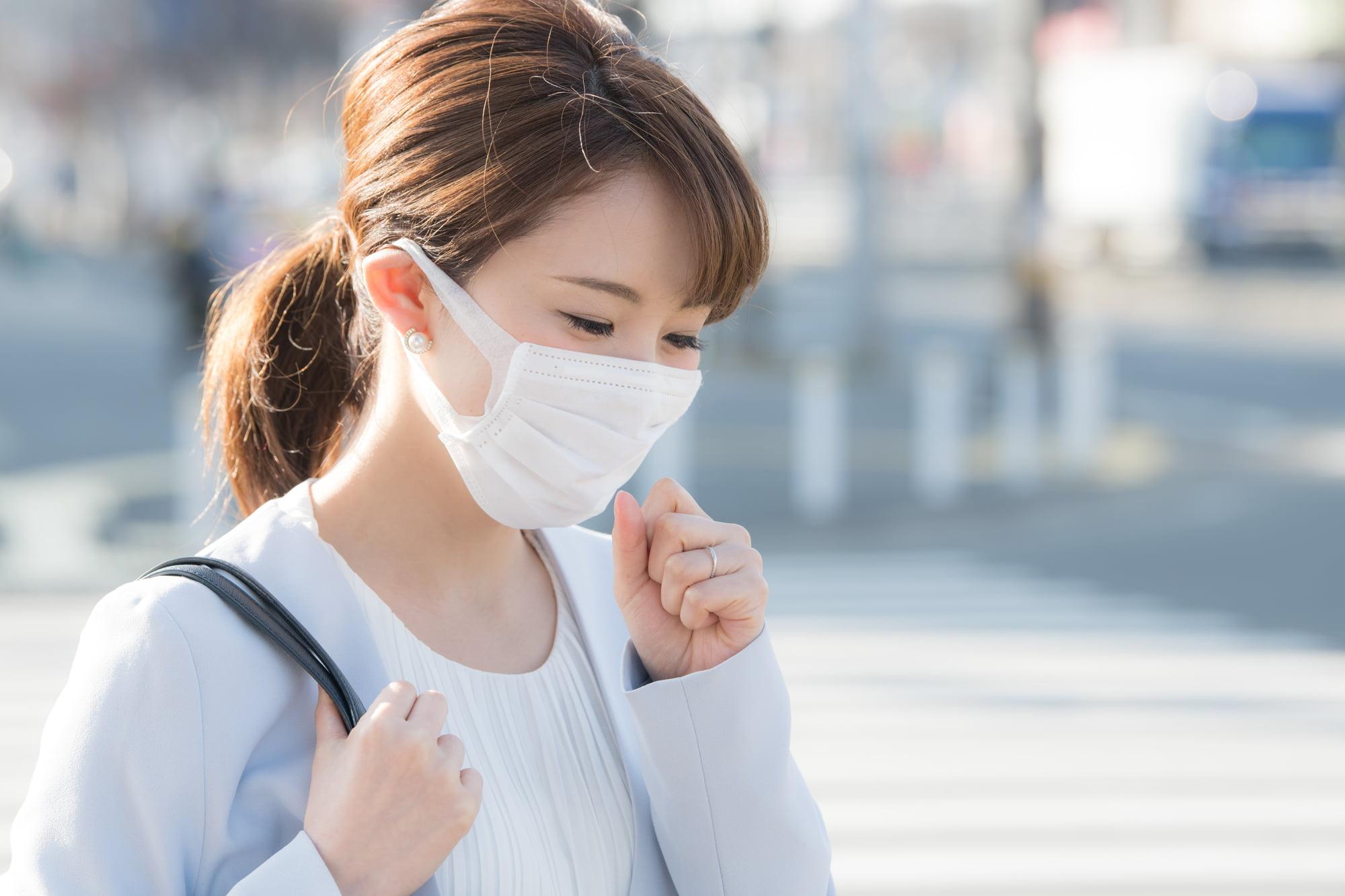 派遣-インフルエンザを患った女性派遣社員