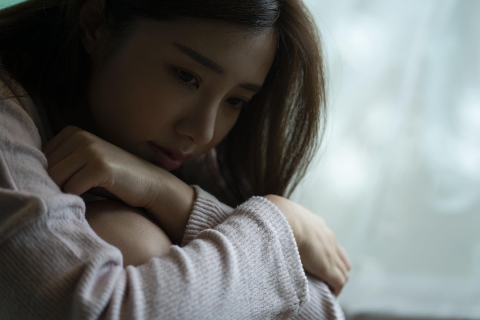 派遣-うつ病 女性