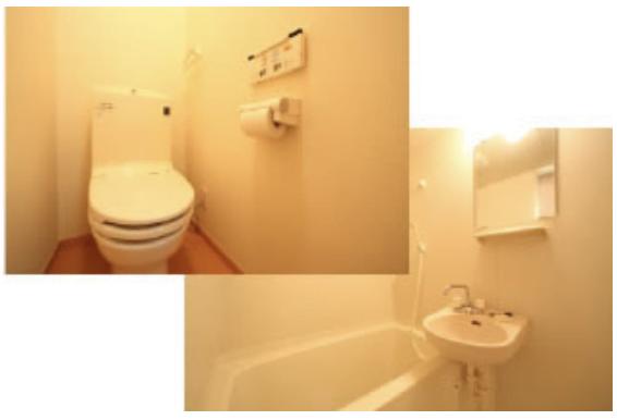 寮の風呂部分