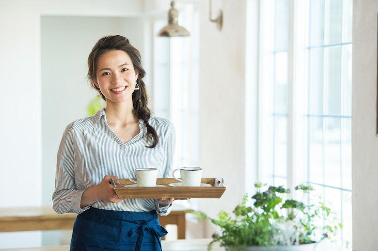 飲食業の女性