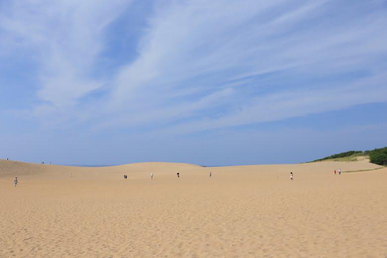 鳥取県の鳥取砂丘