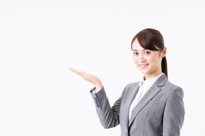 指をさす女性②