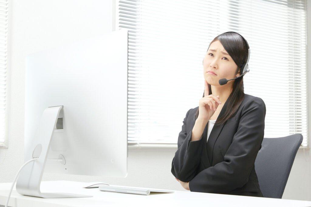 派遣-コールセンターの考える女性
