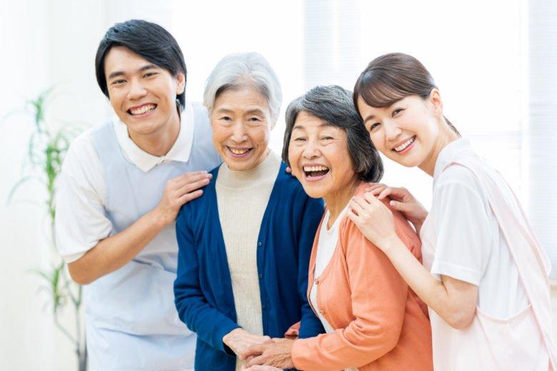 介護士ー派遣ー笑顔